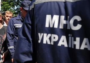В Чернигове обрушилось здание школьного спортзала