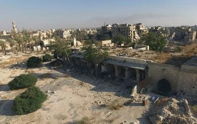 На больницу в Алеппо сброшены бочковые бомбы