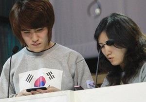 Третий чемпионат мира по скоростному набору sms-сообщений выиграли корейцы