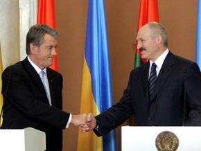 Ющенко поздравил Лукашенко с днем рождения