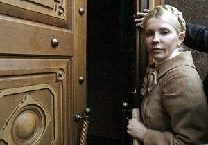 Дело Щербаня: Следственные действия с Тимошенко еще не проводились
