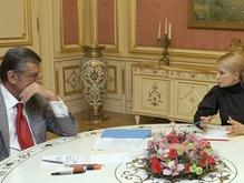 Ющенко в полдень встретится с Тимошенко и Яценюком