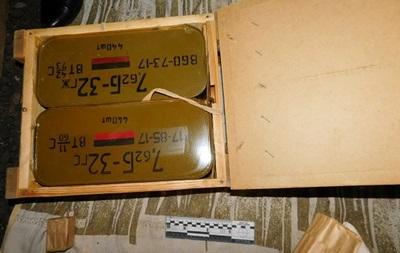 В Киеве нашли склад с боеприпасами и гранатами
