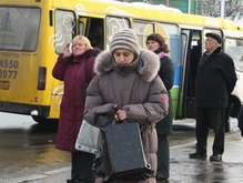 Киевские маршрутчики угрожают забастовкой