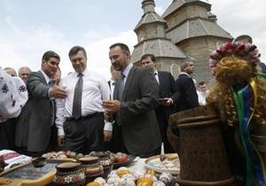 Янукович интересуется, как пройдет Сорочинская ярмарка: С песнями?