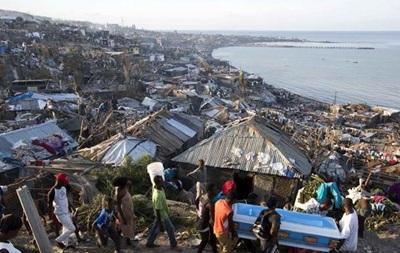 На Гаити от урагана Мэтью пострадали полтора миллиона человек