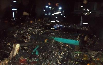 В Киеве горела школа академической гребли