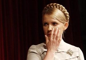 Выборы-2010: Тимошенко обвинила Генпрокуратуру в запугивании судей