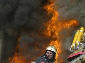 В Киеве горело помещение патологоанатомического корпуса