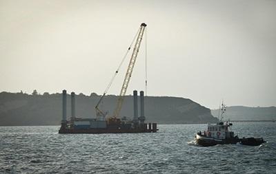 В Крыму ищут моряков из затонувшего плавкрана