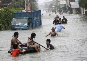 На Филиппины обрушился второй тайфун за неделю