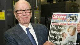 В Британии вышел первый номер воскресного издания Sun