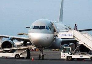 По факту крушения самолета в Донецке возбуждено уголовное дело