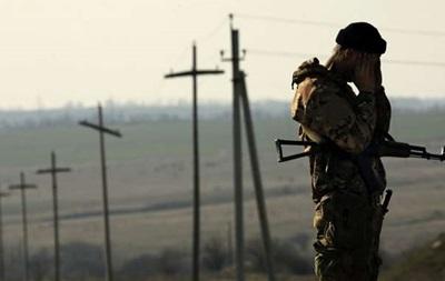 На границе с Крымом застрелился украинский солдат