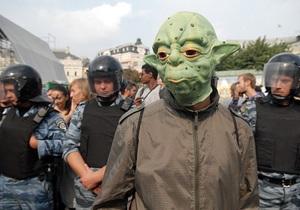 Фотогалерея: То ли еще будет? В Киеве студенты вновь подрались с милицией