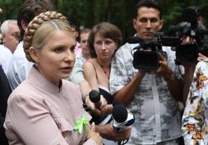 Тимошенко заявила, что не чувствует агрессии к бютовцам-перебежчикам