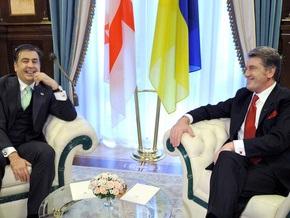 Ющенко встретился с Саакашвили тет-а-тет