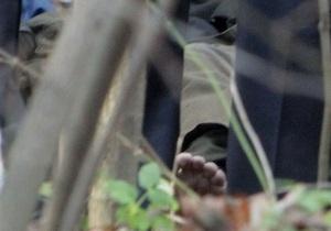 МВД: Обувь покойника, похожего на Мазурка, забрали на экспертизу