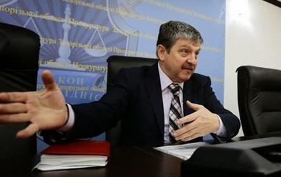 Запорожский прокурор взбунтовался против Луценко