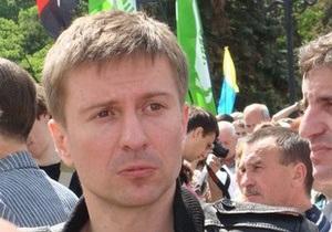 Организатор Дня гнева предъявил милиции документ, разрешающий сегодняшний митинг