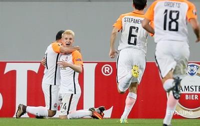 Шахтер разгромил Гент в матче Лиги Европы