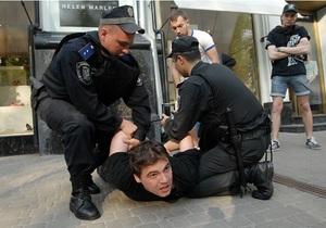 В Киеве отпустили задержанных во время показа фильма Матч