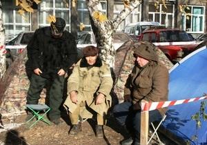 Мэр Донецка заявил, что силового разгона акции чернобыльцев не будет