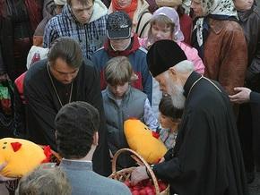 В Киеве поздравили с Пасхой детей с ограниченными возможностями