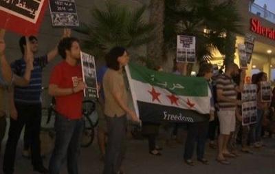 В Израиле собрался пикет у посольства РФ