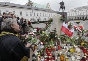 Фотогалерея: Национальная трагедия. Крушение Ту-154 с президентом Польши на борту