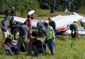 Американский писатель Ричард Бах госпитализирован после авиакрушения