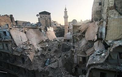 ЕС вводит первые санкции по Алеппо - WSJ
