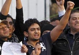 Представителем революционной молодежи Египта выбран менеджер Google