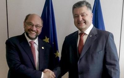 Шульц: Европейский парламент на стороне Украины