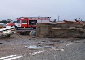 В Крыму в результате столкновения двух Москвичей погибли пятеро человек