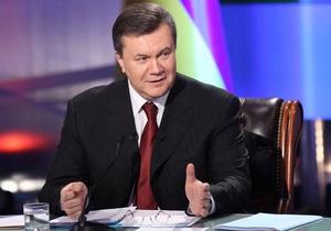 Это мой закон: Янукович уверен, что антикоррупционный законопроект будет принят в ближайшее время