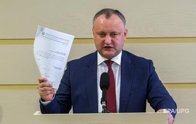 ВМолдавии президента будут выбирать вовтором туре