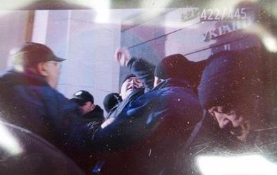 Под Радой произошла стычка чернобыльцев с полицией