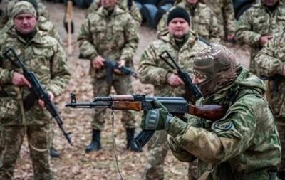 На Полтавщине прошли военные учения