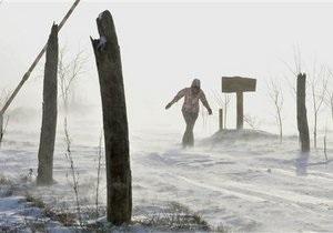 В  Ивано-Франковской области объявлено штормовое предупреждение