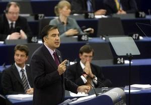 Саакашвили рассказал европарламентариям, будет ли Грузия применять силу для возврата Абхазии и ЮО