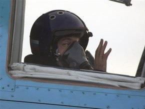 Фотогалерея: Медведев полетал на истребителе