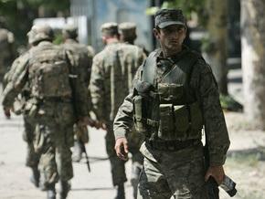 Грузинский офицер бежал в Россию