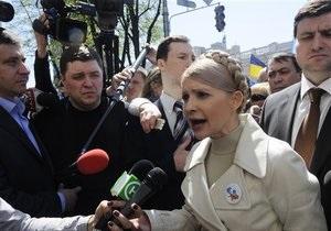 Русская служба Би-би-си: Скандал - оружие украинского политика