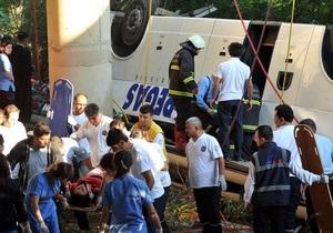 Глава ГИБДД РФ: Почти все пассажиры разбившегося в Турции автобуса не были пристегнуты
