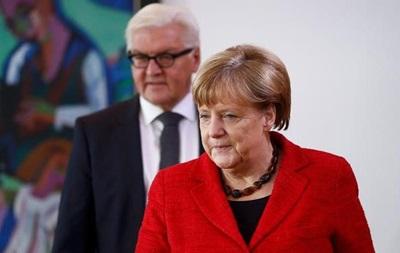 Меркель поздравила Трампа