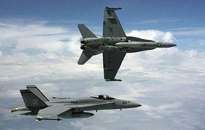 В США столкнулись два истребителя