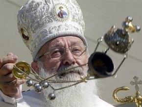 Глава украинских греко-католиков молится за усопшего Патриарха Алексия ІІ