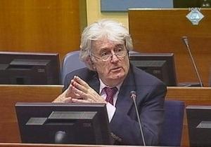 Караджич: Мы могли взять под контроль всю Боснию и Герцеговину