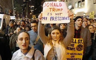 Протесты против Трампа в Портленде объявлены беспорядками